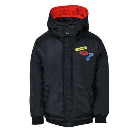 Bodytalk Παιδικό μπουφάν με κουκούλα Cobalt - 1182-759129-00100