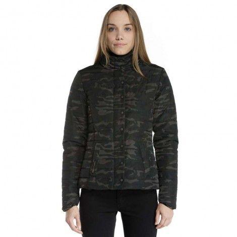 Devergo Women's Camouflage Jacket - 2D823509KA1600-70