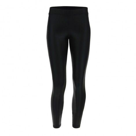 Freddy Shiny black ankle-length leggings - F9WTBP2-N1
