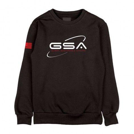 GSA Earth Crew Hoodie - 1719201-01 Black