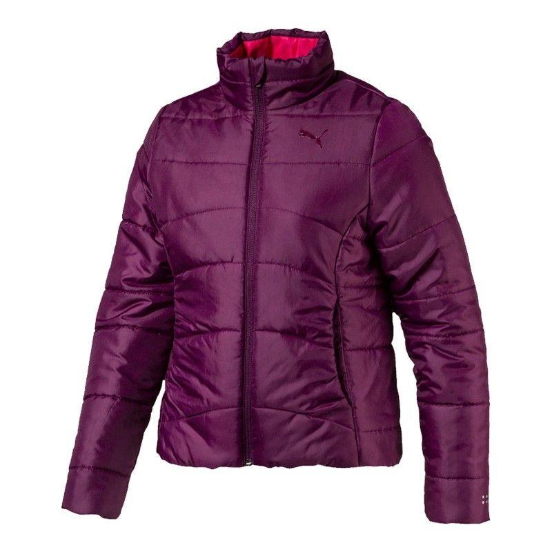 Puma Ess Padded Jacket Dark Purple - 592572-29