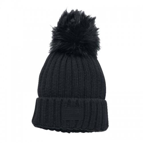 Under Armour Ladies Snowcrest Pom Beanie Hat - 1299905-001