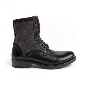 Devergo Leather Men's Brouge Boots - DE-CX1026LE 17FW