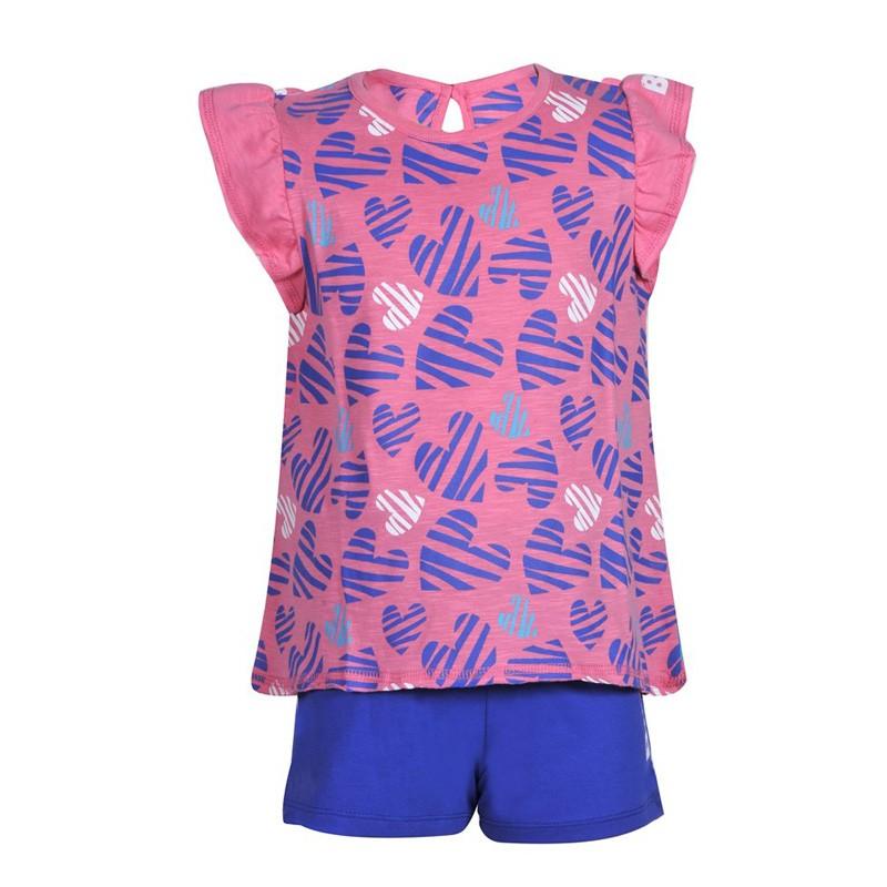 BodyTalk Βρεφικό σετ με t-shirt και shorts - 1201-743699-00319