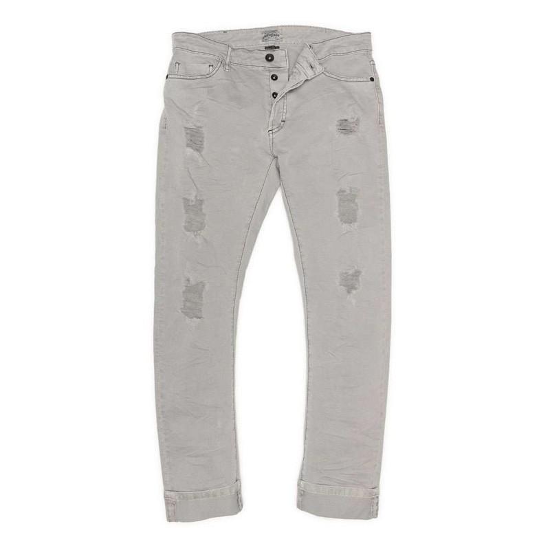 Devergo Men's Grey Trousers - 1D011022LP6106-81