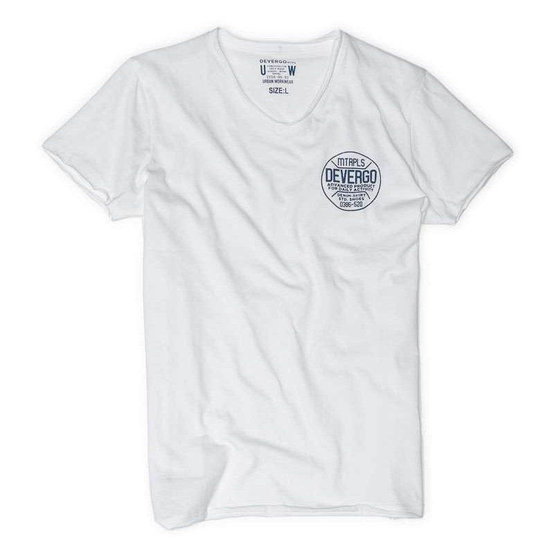 Devergo Men's T-Shirt - 1D014055SS0105-1