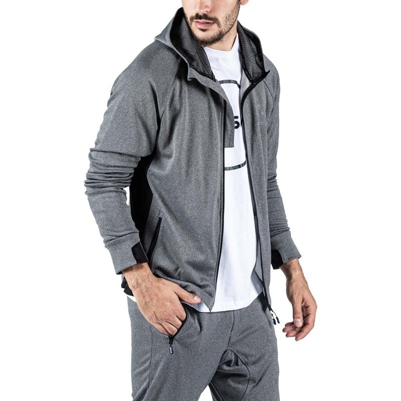GSA HYDRO+ Runner Hoodie Jacket Frost Grey - 1717013-05