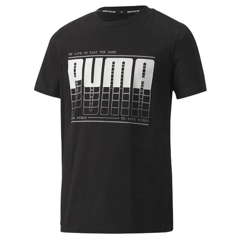Puma Acitve Sports Graphic Tee Boys - 581173-01