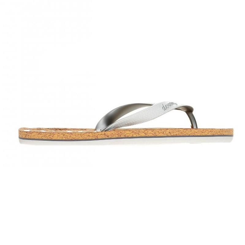 Γυναικείες Παντόφλες - Devergo Flip Flops Whitw- DE-CO2504CO 17SS