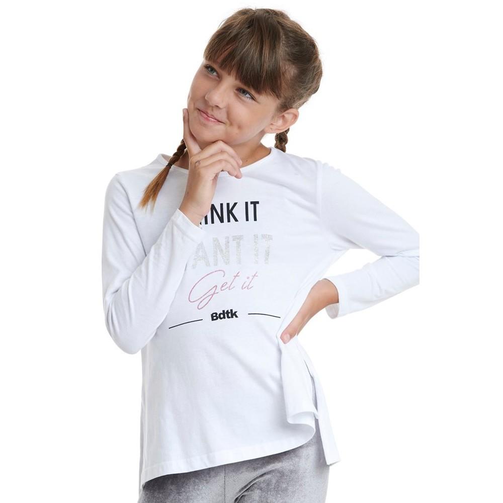 BodyTalk Παιδική μακριά μπλούζα για κορίτσια - 1202-701626-00200
