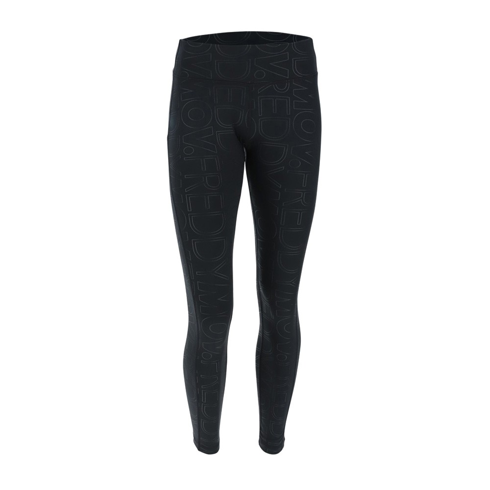 Freddy ankle length WR.UP® sport shaping leggings in all over print D.I.W.O.® fabric - WS5RF002-N