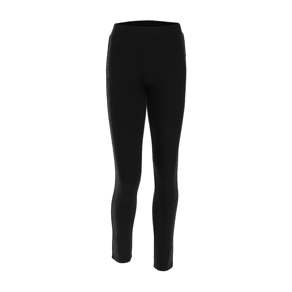 Freddy workout leggings with a lateral logo and sequin panel - F0WCLP3-N