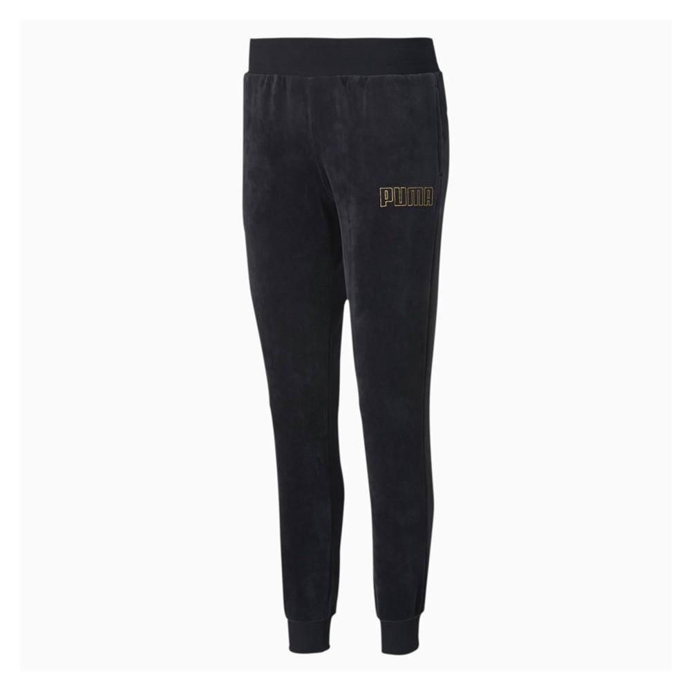 Puma Modern Basics Women's Velour Pants - 583645-01