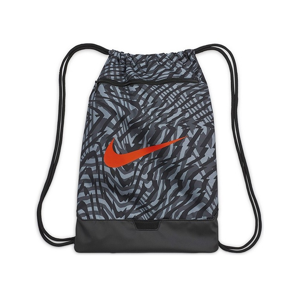 Nike Brasilia Printed Gym Sack - CW9066-010