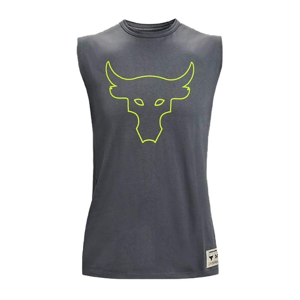 Under Armour Men's Project Rock Show Your Work Sleeveless - 1364745-012