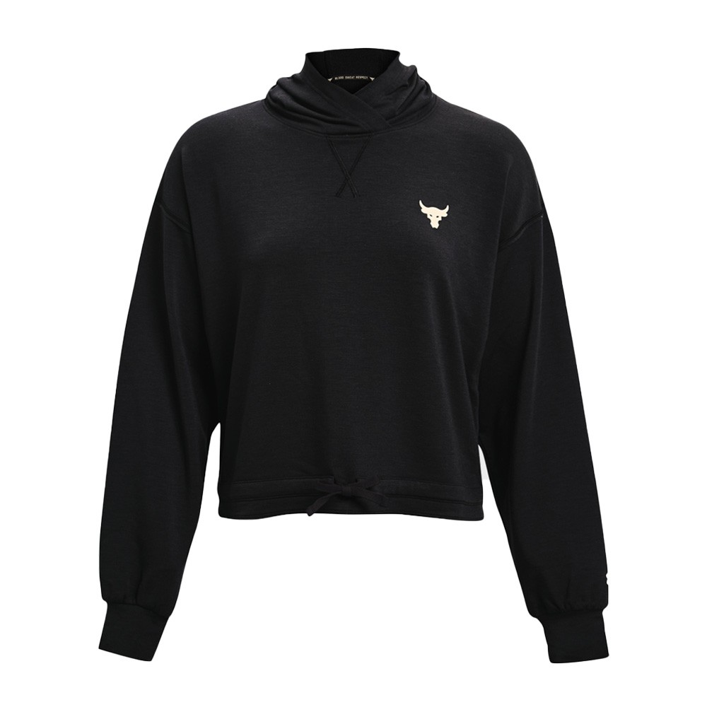 Under Armour Women's Project Rock Terry Hoodie - 1361059-001