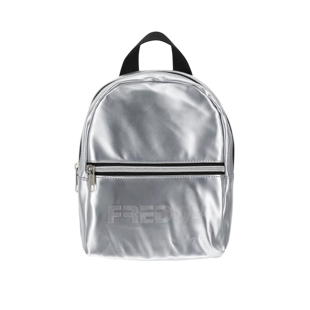 Freddy Metallic nylon mini backpack - PUPACKMINISG-S