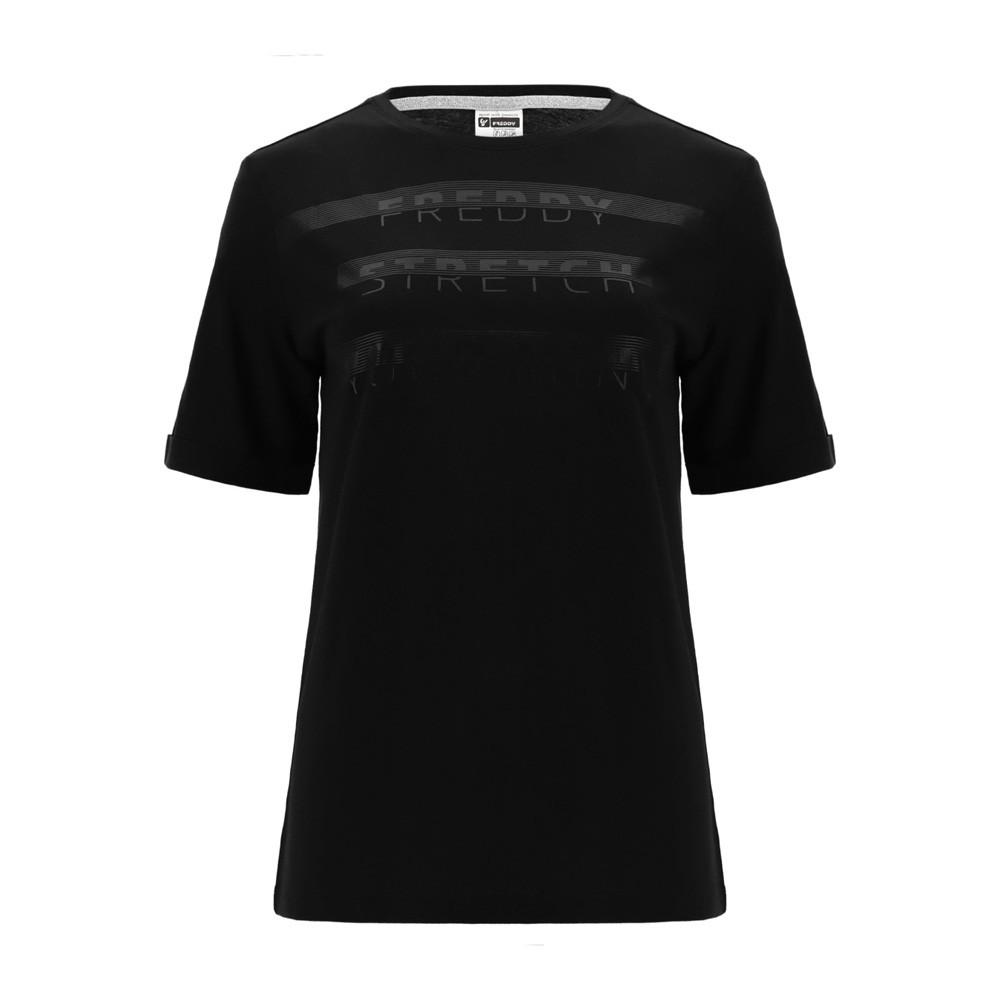 Freddy Regular fit STRETCH YOUR MIND t-shirt - S1WBCT3-N