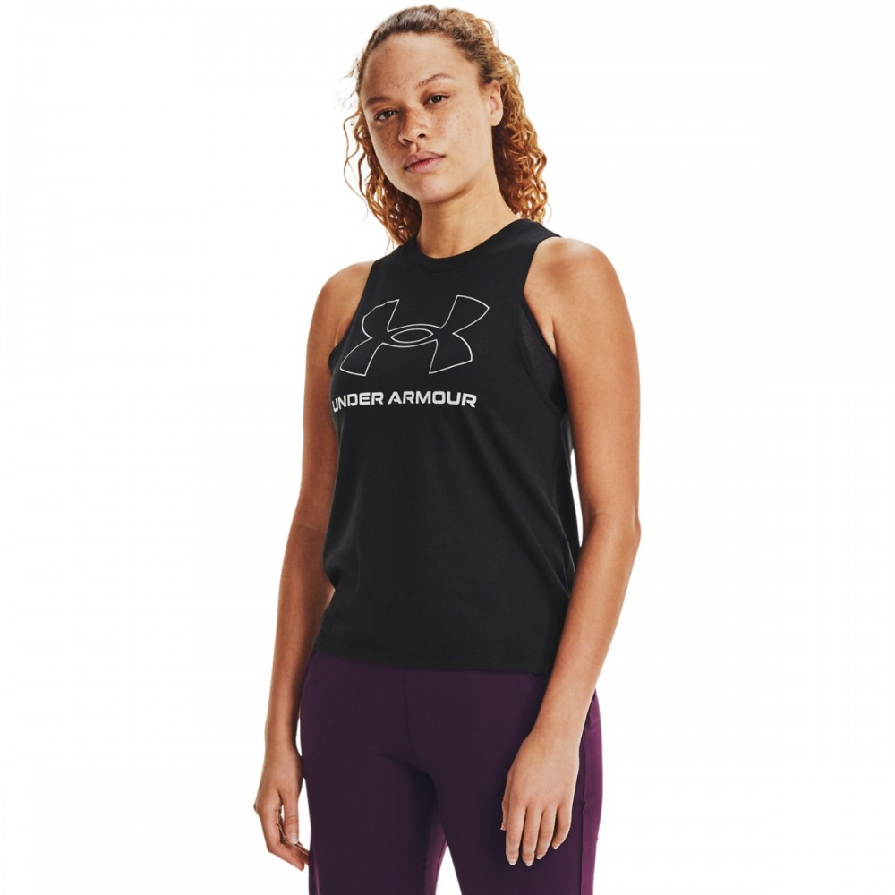 Under Armour Women's Sportstyle Graphic Tank - 1356297-002