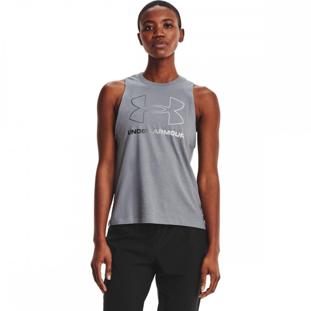Under Armour Women's Sportstyle Graphic Tank - 1356297-035