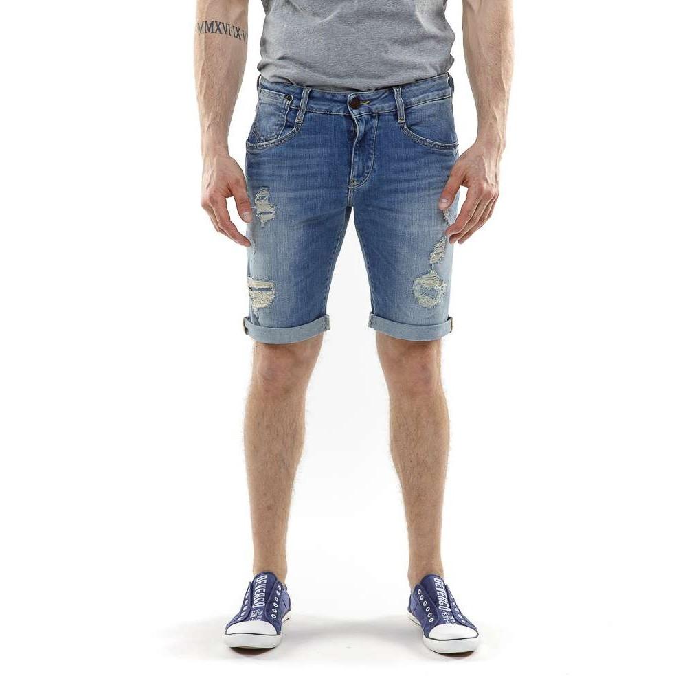 Devergo Men's Denim Shorts - 1J21SS0053MP2770ST-0
