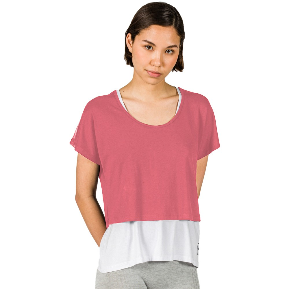 GSA Double Layered T-Shirt - 1727103-13 - DUSTY PINK