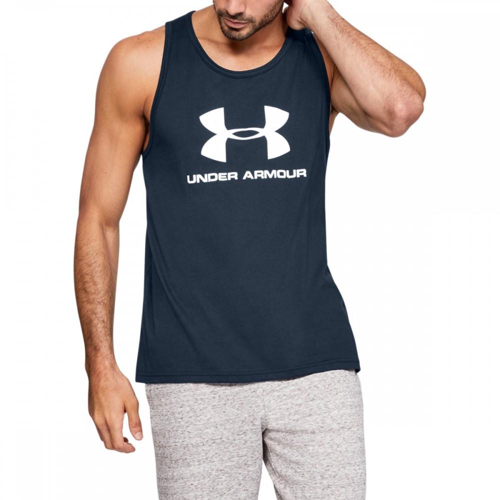 Under Armour Men's Sportstyle Logo Tank - 1329589-409