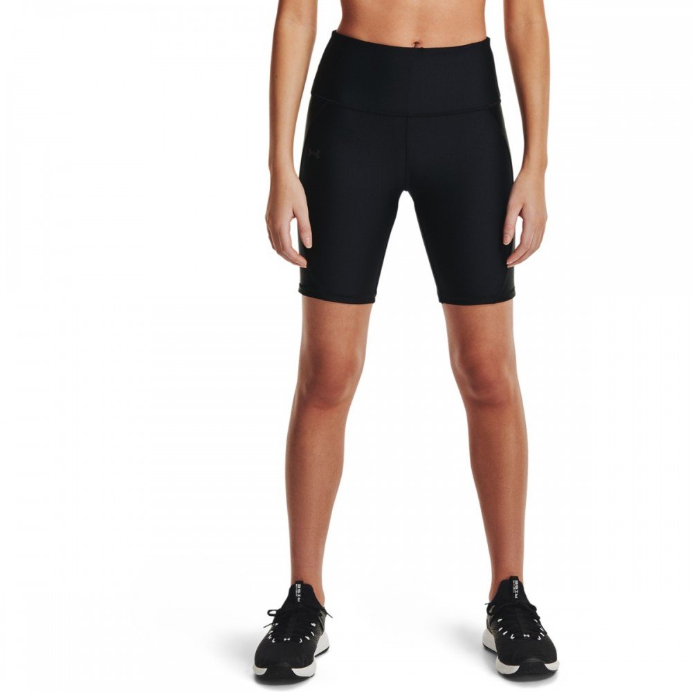 Under Armour Women's HeatGear® Armour Shine Bike Shorts - 1360923-001