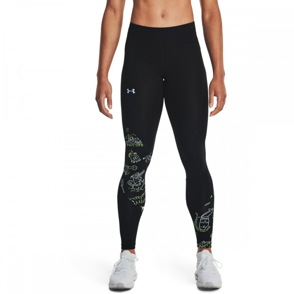 Under Armour Women's Run Your Face Off Tights - 1362717-001