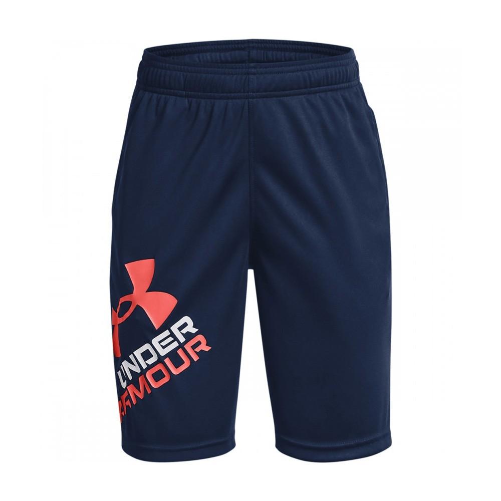Under Armour Boys' Prototype 2.0 Logo Shorts - 1361817-408