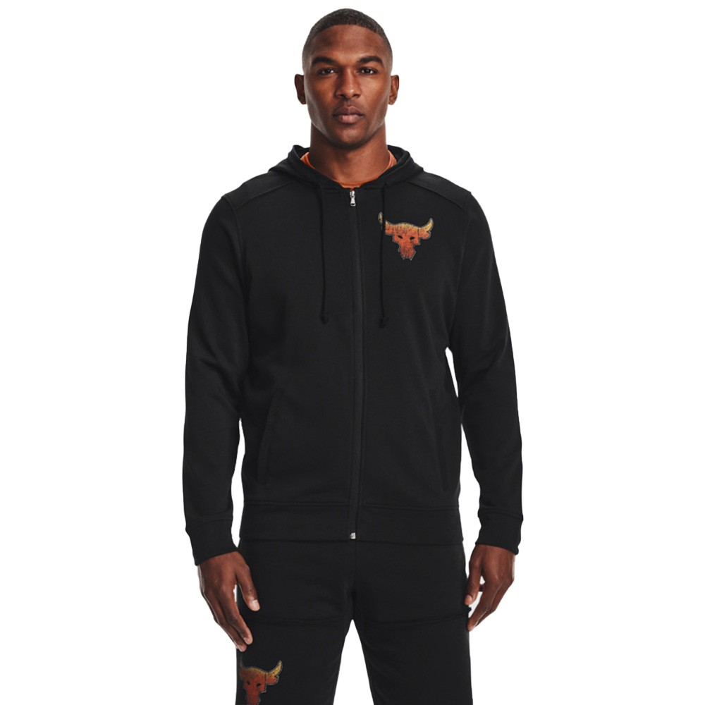 Under Armour Project Rock Terry Fz Hoodie - 1361749-001