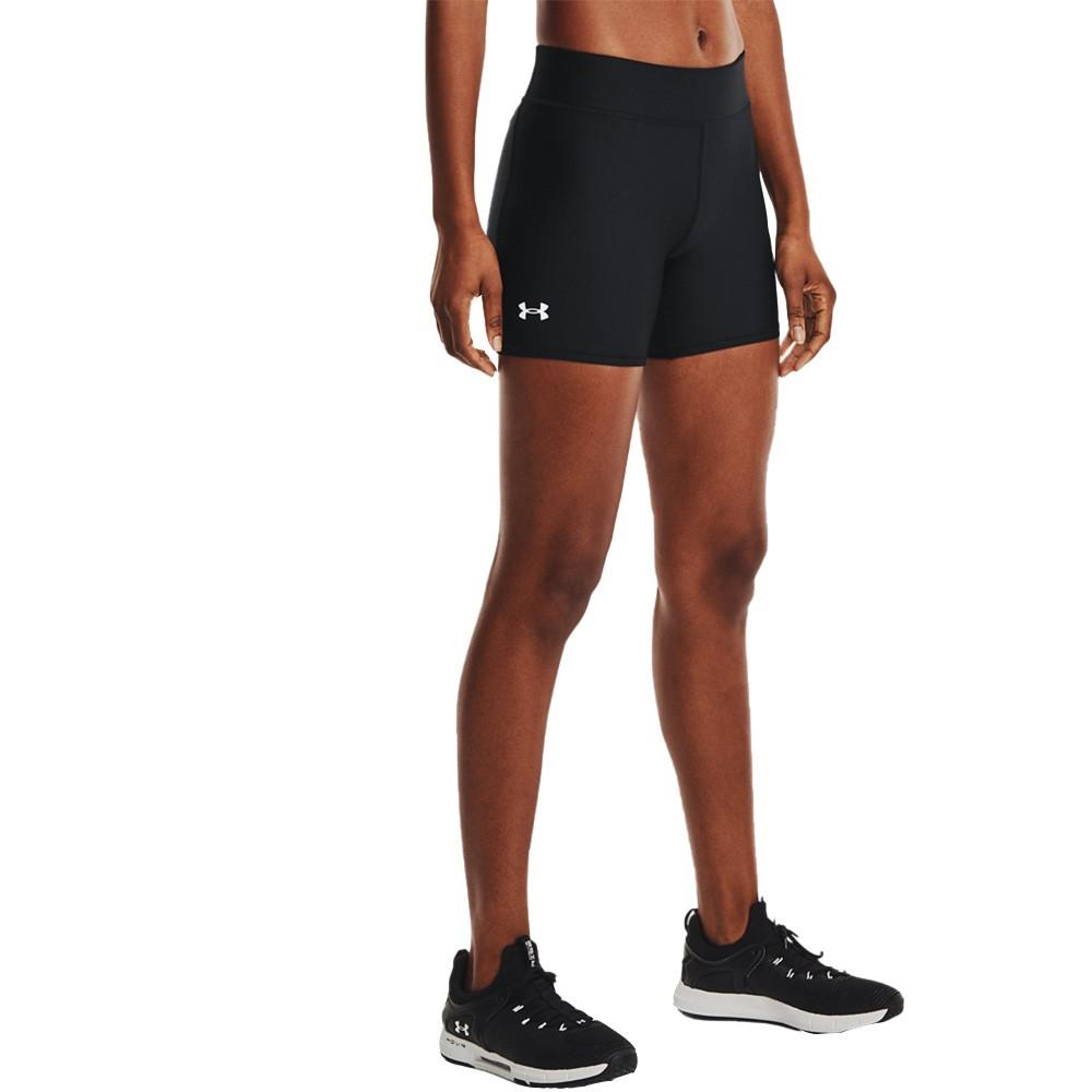 Under Armour Women's HeatGear® Armour Mid-Rise Middy Shorts - 1360938-001