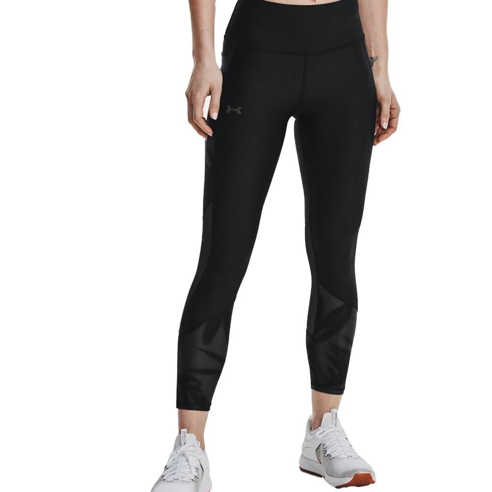 Under Armour Women's HeatGear® No-Slip Waistband Tonal Panel Ankle Leggings - 1365348-001