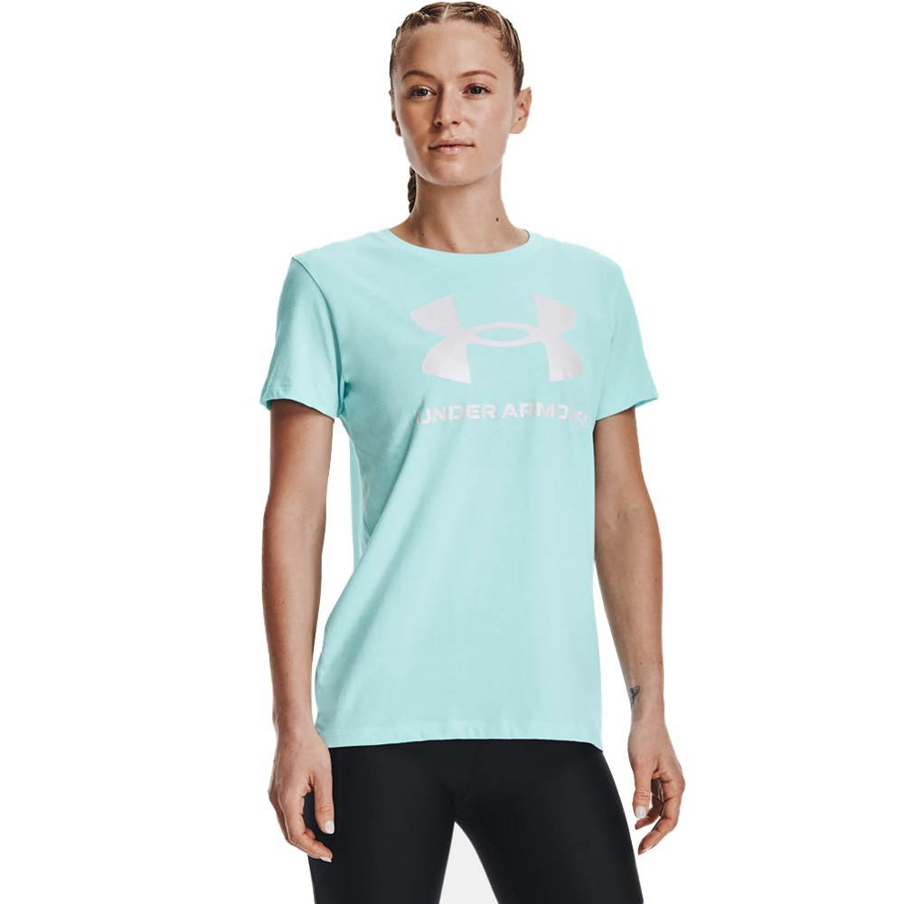 Under Armour Women's Sportstyle Graphic Short Sleeve - 1356305-441