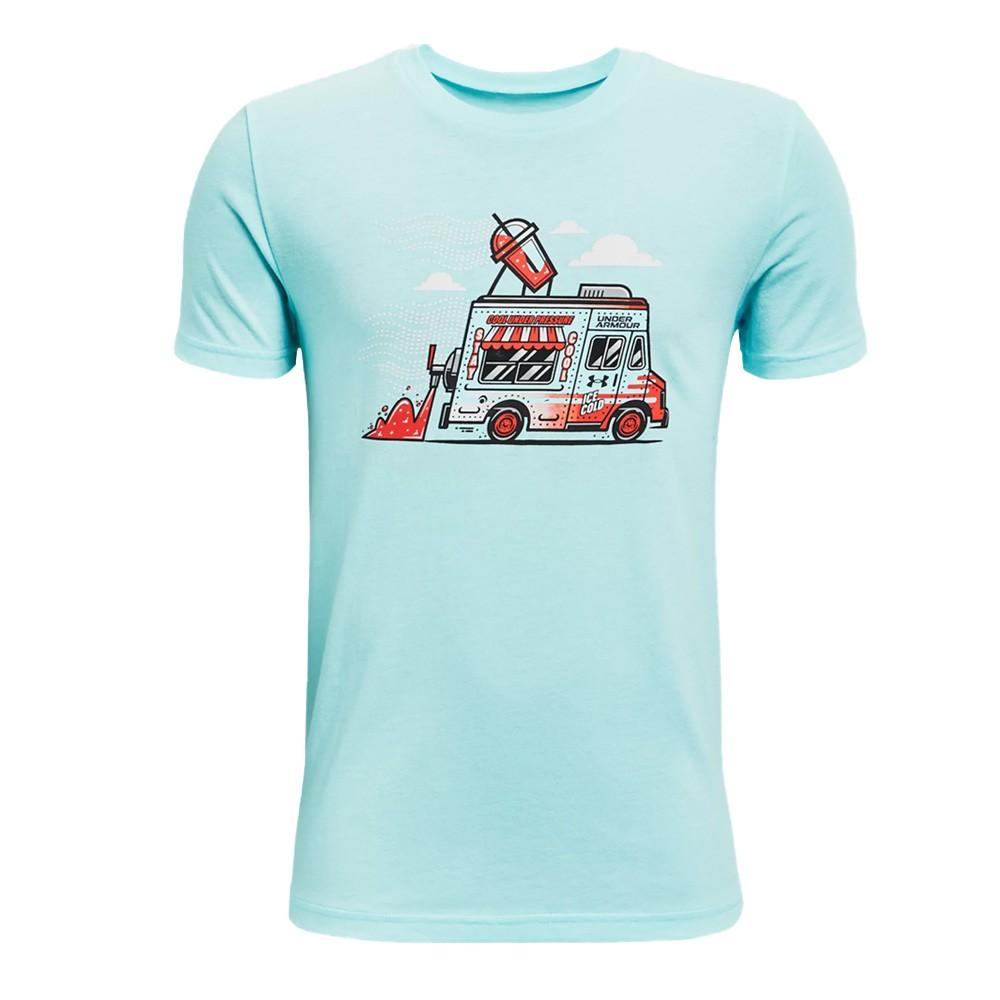 Under Armour Boys' SP Ice Cream Truck Short Sleeve - 1361842-441