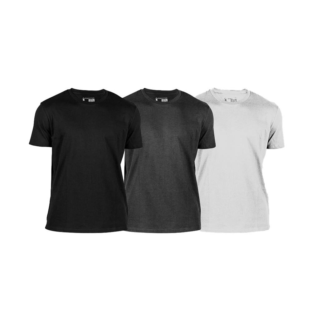 Gsa Men's T-Shirt 3 Pack CHARCOAL - 171203-06