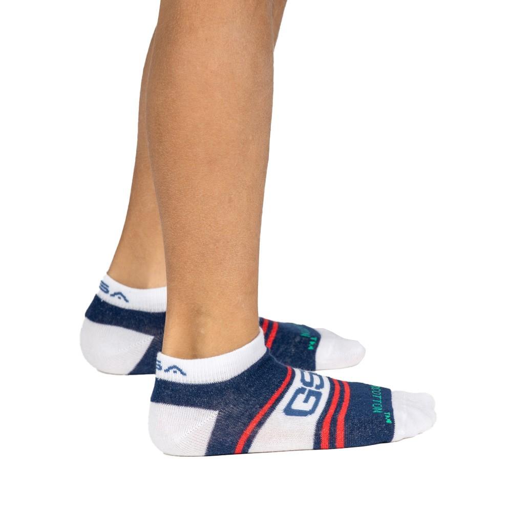 GSA Supercottn Kids Low Cut Κάλτσες  Πακέτο των 6 πολύχρωμο - 831904-50