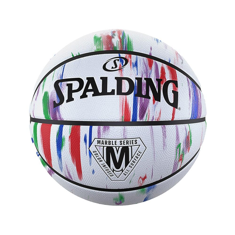 Μπάλα μπάσκετ Spalding Marble Series Rainbow - 84-397Z1