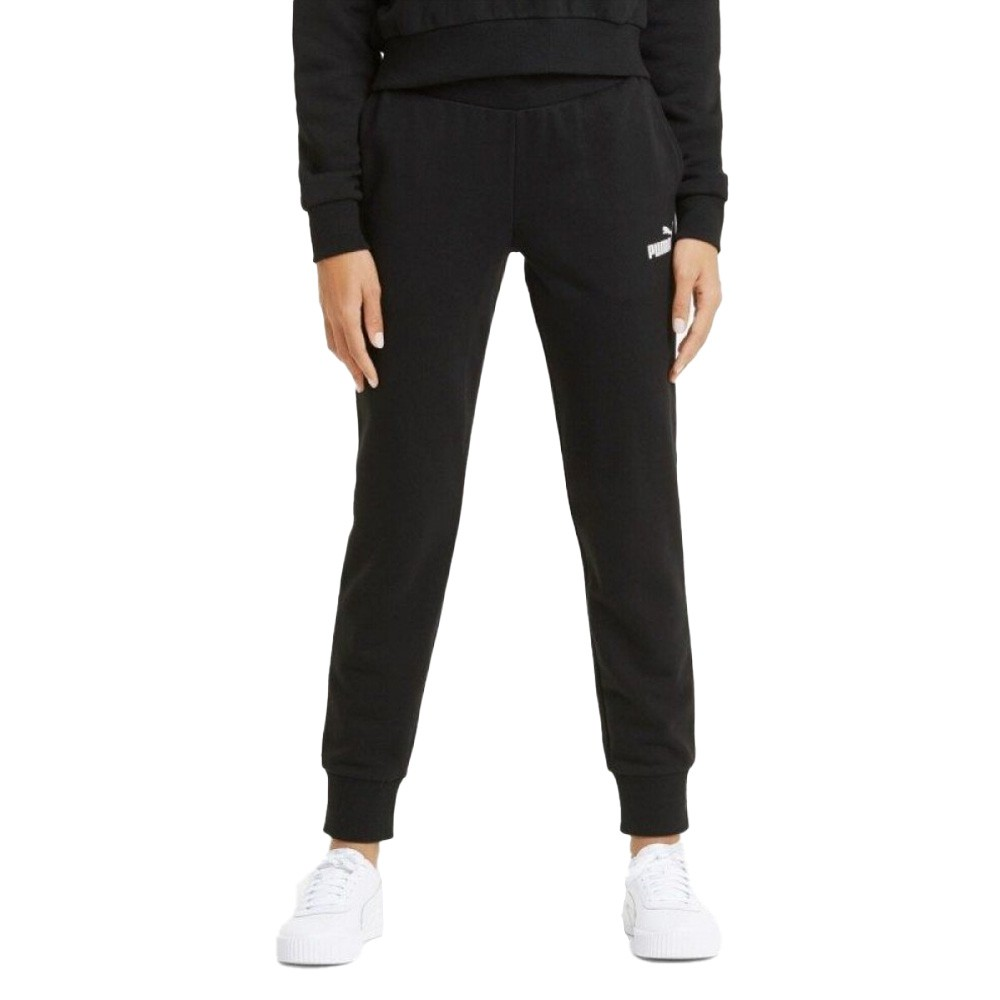 Puma Ess + Embroidered Wide Pants Fleecce - 587904-01