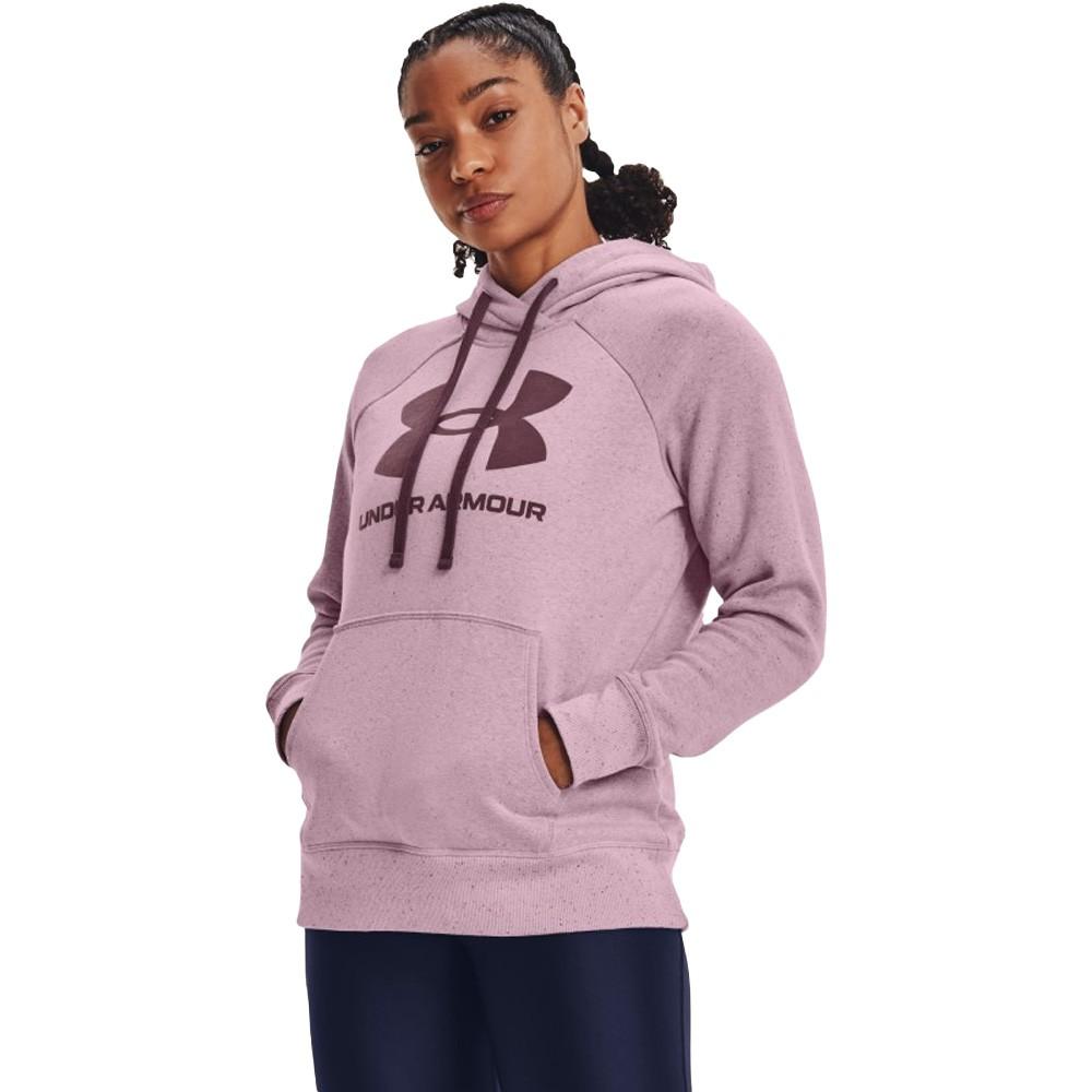 Under Armour Rival Fleece Logo Hoodie - 1356318-698