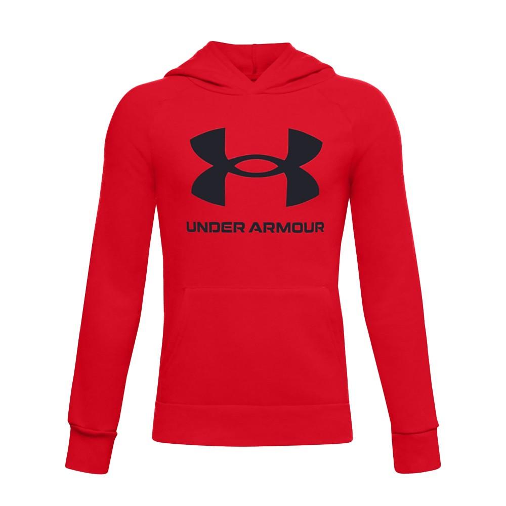 Under Armour Boy's Rival Fleece Big Logo - 1357585-600