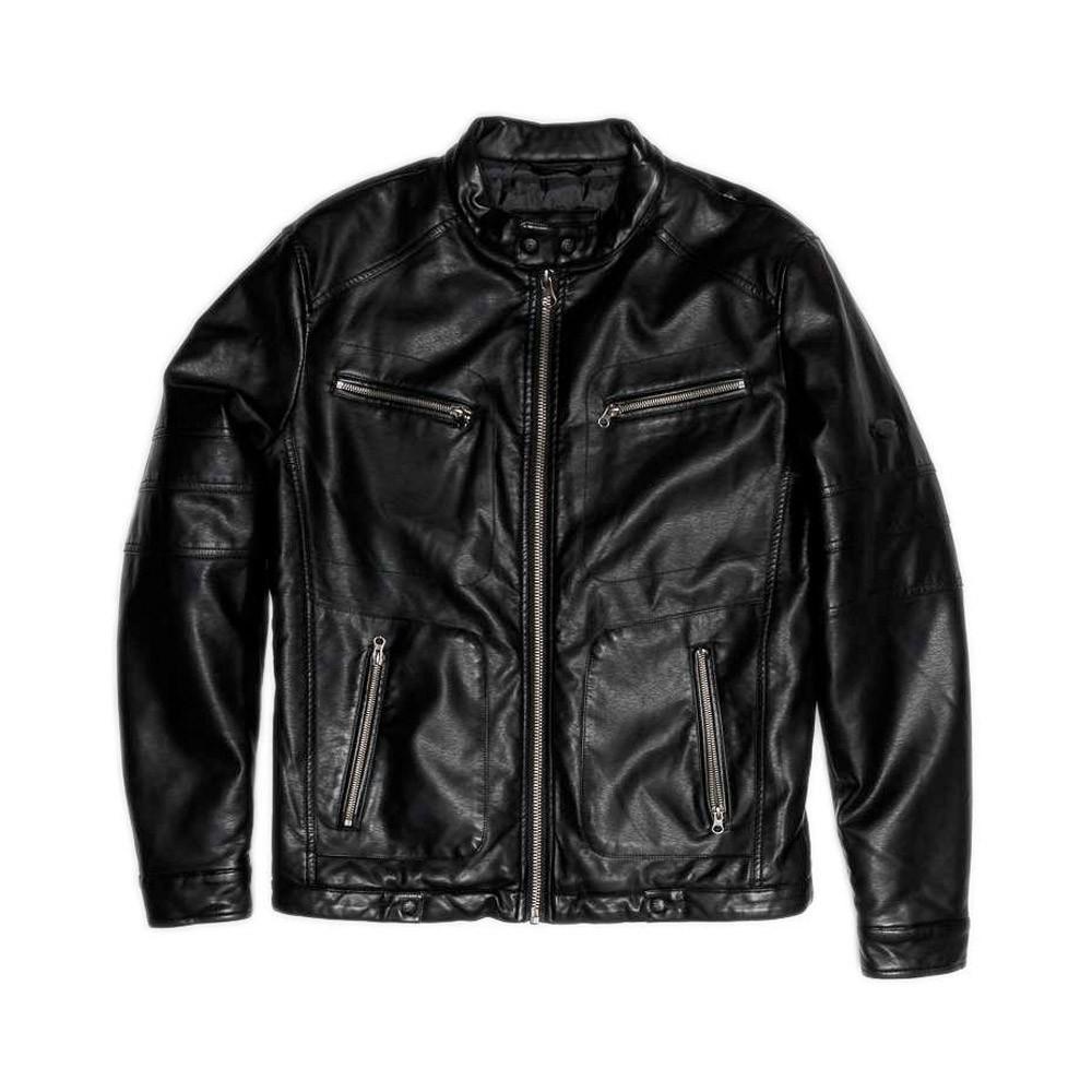 Devergo Men's Biker Jacket - 1D21FW3021KA9000-16