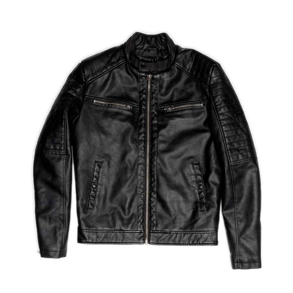 Devergo Men's Biker Jacket - 1D21FW3033KA9000-16