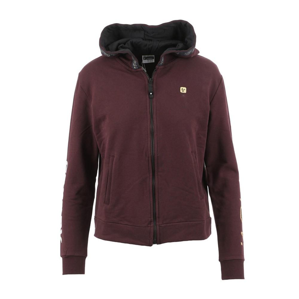 Freddy Hooded sweatshirt with golden lettering - F1WFTS5-K86
